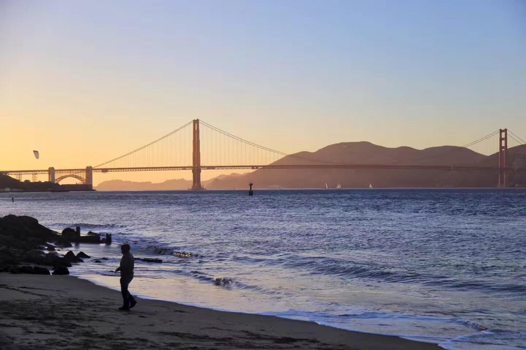 Crissy Field East Beach_sunset