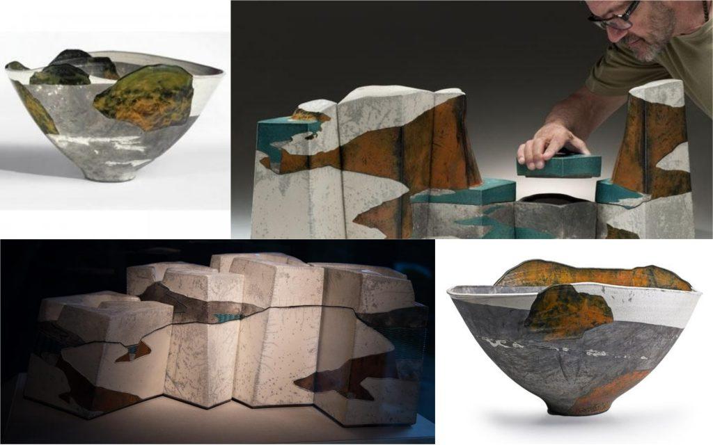 Wayne Higby landscape pottery